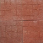 40 X 40 PIEDRA NATURAL ROJO